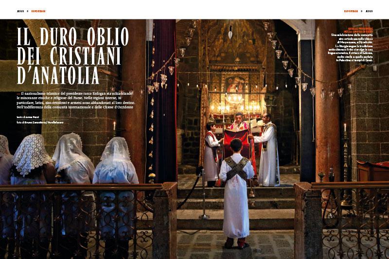 Il duro oblio dei cristiani d'Anatolia 1