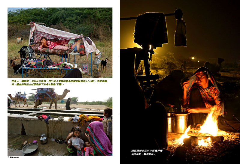 Nomads in Gujarat. The Rabari. 4