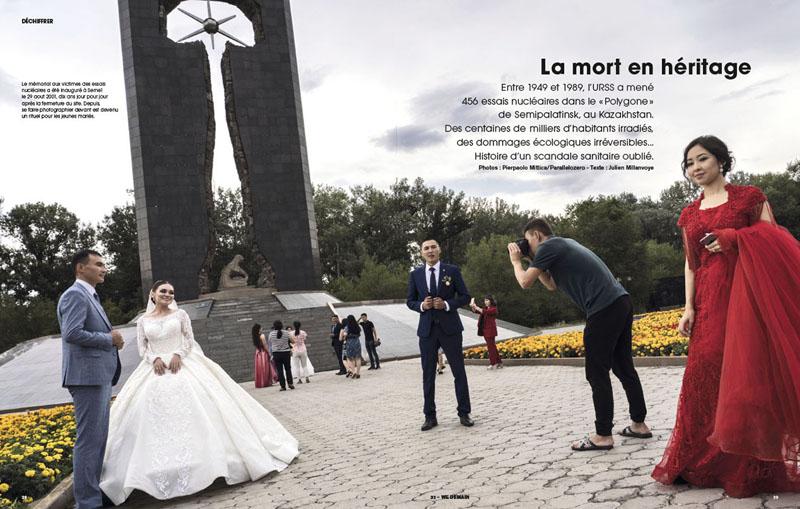 Kazakhstan  Semipalatinsk. La mort en héritage 1