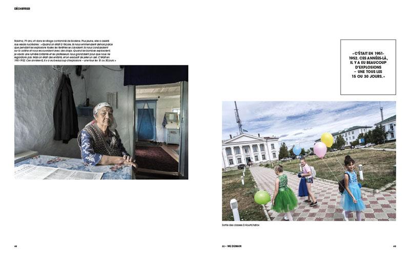 Kazakhstan  Semipalatinsk. La mort en héritage 6