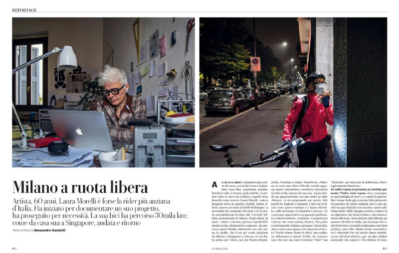 Laura Morelli | Milano a ruota libera 1