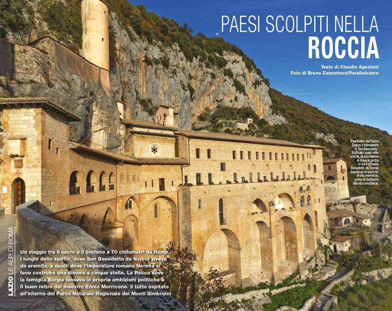 Le Alpi di Roma | Paesi scolpiti nella roccia 1