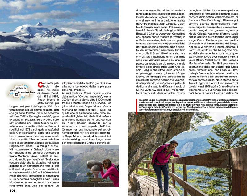 Svizzera Vallese | Montagne con vista 2