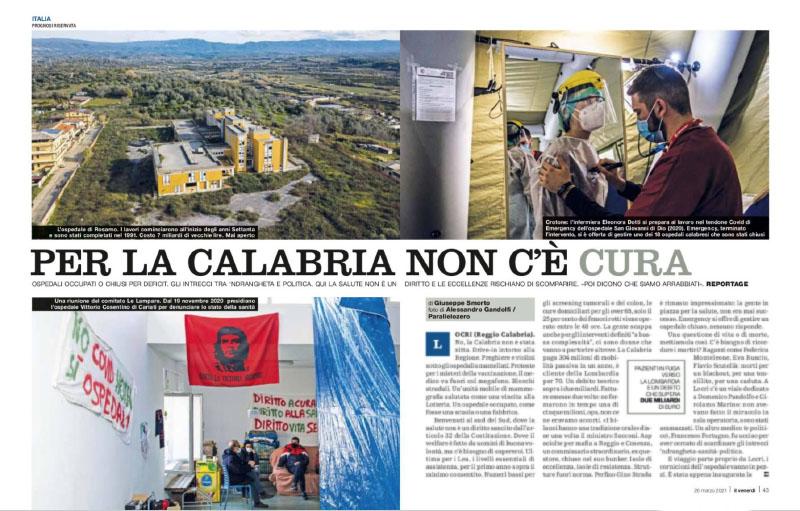 Prognosi riservata | Per la Calabria non c'è cura 1