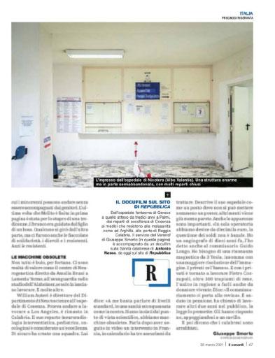 Prognosi riservata | Per la Calabria non c'è cura 3