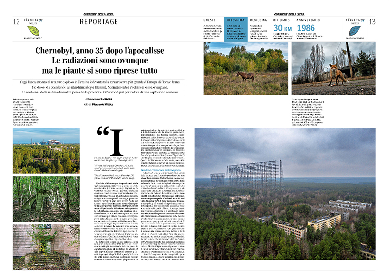 Chernobyl, anno 35 dopo l'apocalisse. Le radiazioni sono ovunque, ma le piante si sono riprese tutto 1