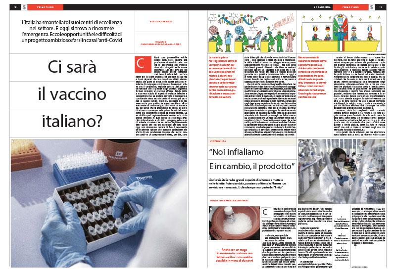 Salute | Ci sarà il vaccino italiano? 1