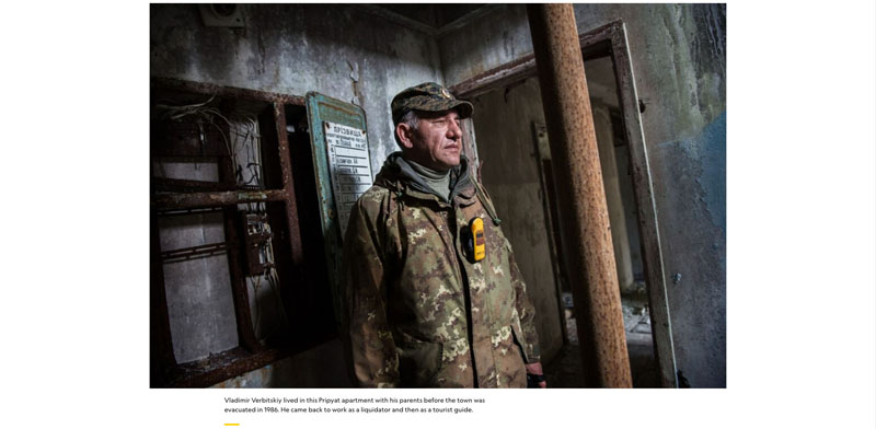 Life goes on at Chernobyl 35 years after the world's worst nuclear accident 6