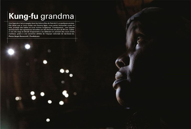 Kenya | Kung-fu grandma 1