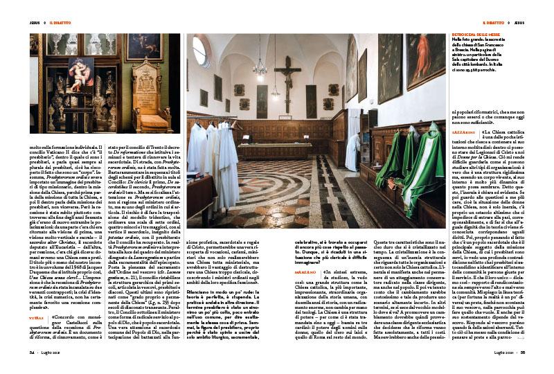 Il dibattito | Verso una Chiesa senza preti? 3