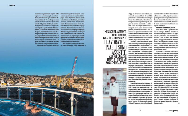 """""""700 euro al mese, 14 ore al giorno"""". Com'è duro il lavoro sulle navi da crociera 4"""