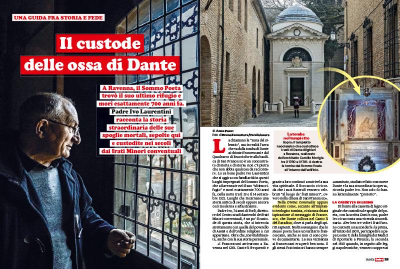 Ravenna, Padre Ivo Laurentini | Il custode delle ossa di Dante 1