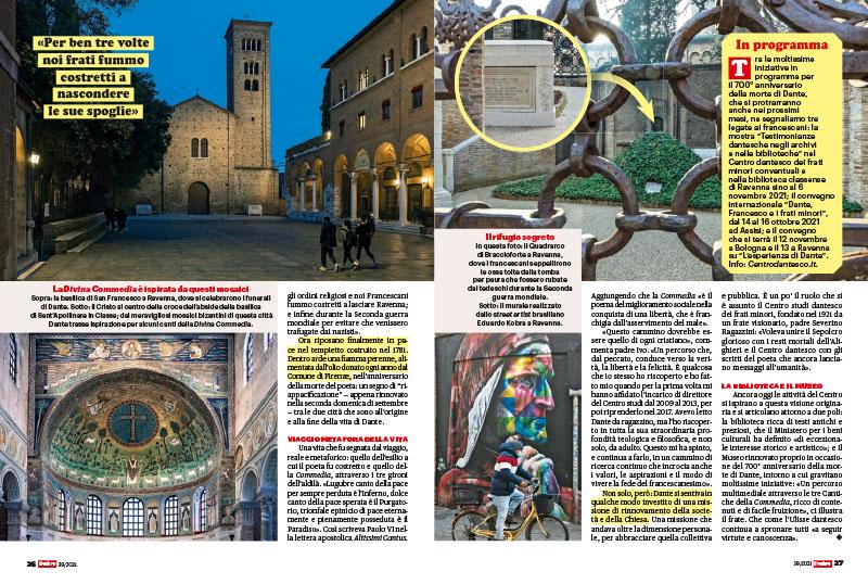 Ravenna, Padre Ivo Laurentini | Il custode delle ossa di Dante 2
