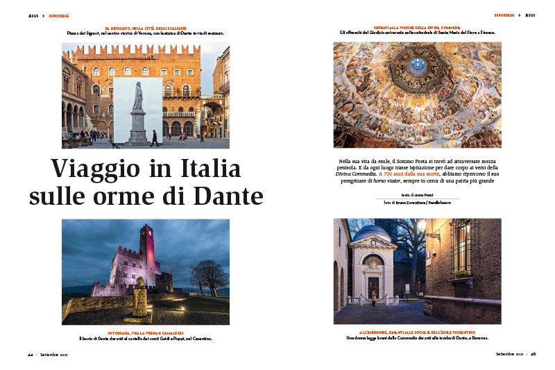Viaggio in Italia sulle orme di Dante 1