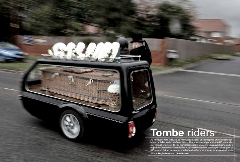Motorcycle Funerals   Tombe riders 1