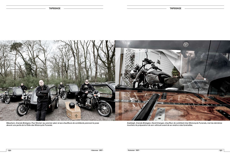 Motorcycle Funerals   Tombe riders 2