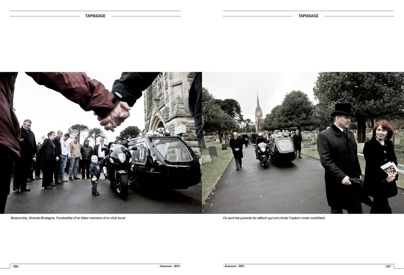 Motorcycle Funerals   Tombe riders 5