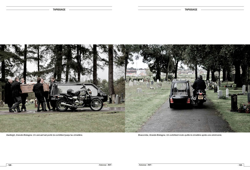Motorcycle Funerals   Tombe riders 6
